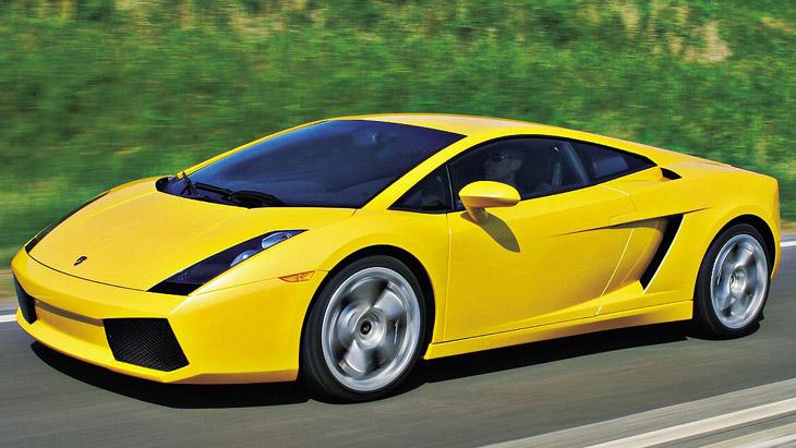 фото машины ламборджини галлардо
